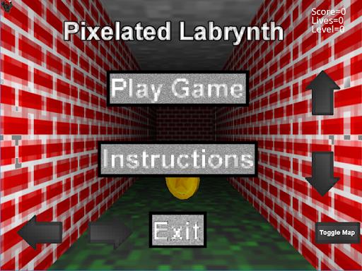 Pixelated Labrynth screenshot 1