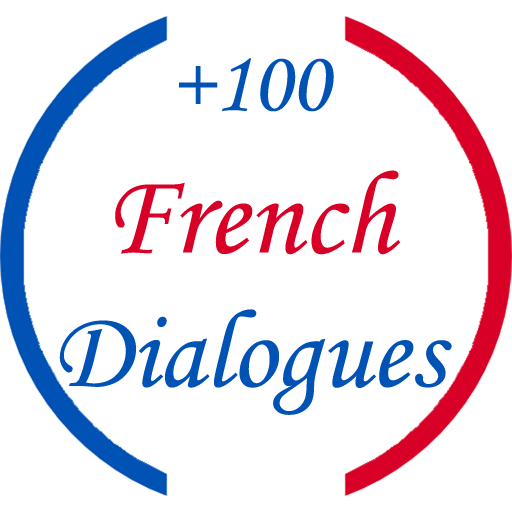 +100 French Dialogues Icon