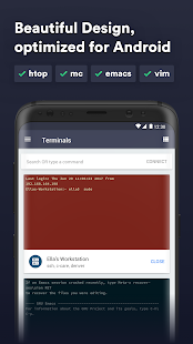 Termius - SSH/SFTP and Telnet client Screenshot
