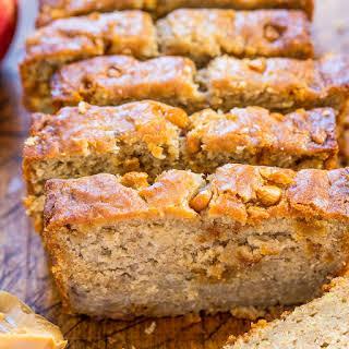Peanut Butter Apple Banana Bread.