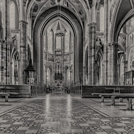 catedral by Eseker RI - Black & White Buildings & Architecture