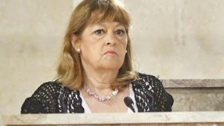 Mabel Hernández pasará a formar parte del Grupo de No Adscritos