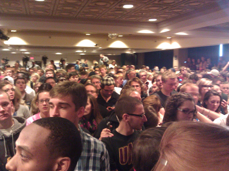 Photo: The ballroom is packed!