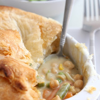 Curried Chickpea Pot Pie