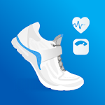 Pedometer - Step Counter, Weight & Calorie Tracker icon