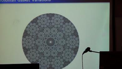 Photo: Francesco de Comite's talk.