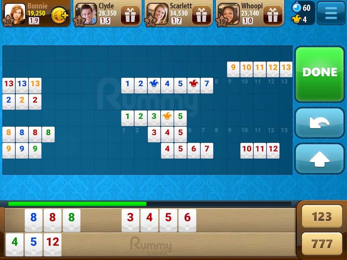 Rummy World- screenshot