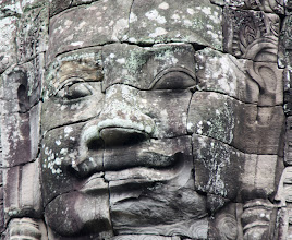 Photo: Year 2 Day 44 -  Yet Another Face at The Bayon