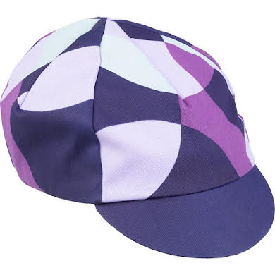 All-City Dot Game Cycling Cap - Dark Purple, One Size