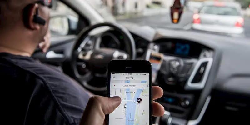 Uberの使い方フランス版