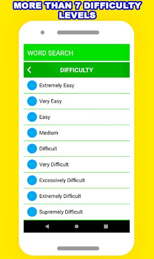 Word Search Puzzle - Free Fun Game android2mod screenshots 2