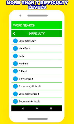 Word Search Puzzle - Free Fun Game  screenshots 2