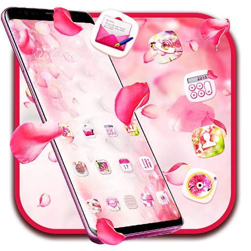 Pink Pretty Flower Theme 2019