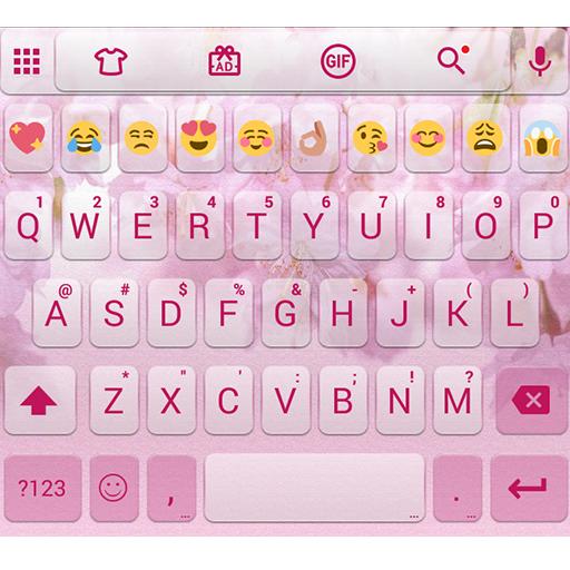 Love Sakura Emoji Keyboard