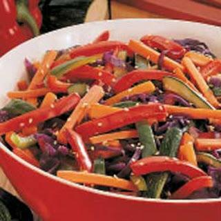 Colorful Vegetable Saute