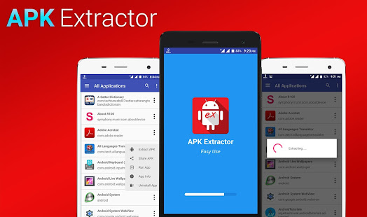 APK Extractor - Backup & Restore for PC-Windows 7,8,10 and Mac apk screenshot 1