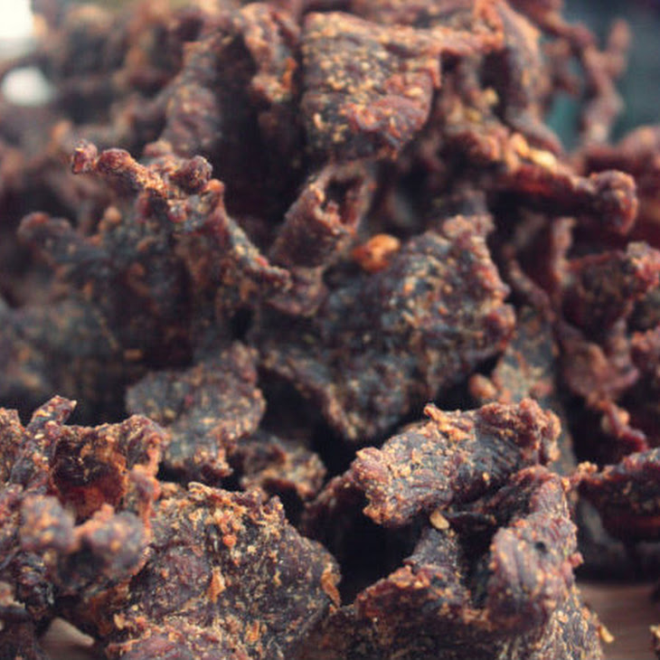 Oven-Dried Bourbon Beef Jerky