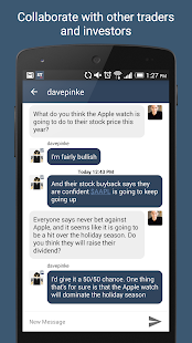 StockTwits - Stock Market Chat- screenshot thumbnail