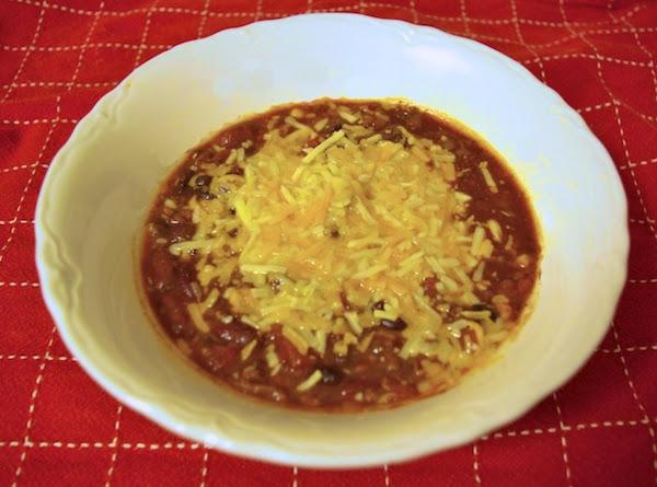 Tailgating Turkey Chili Recipe