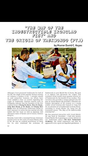 Tae Kwon Do Life Magazine screenshot 4