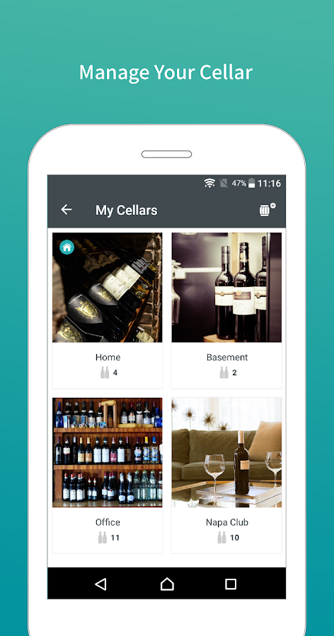 CellWine- Complete wine.- screenshot