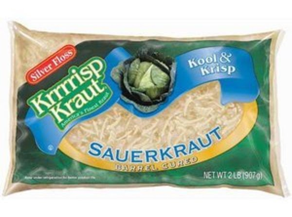 Drain sauerkraut and squeeze to remove juice.Then use paper towels to dry kraut.. to...