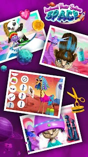 Space Animal Hair Salon - Cosmic Pets Makeover - náhled