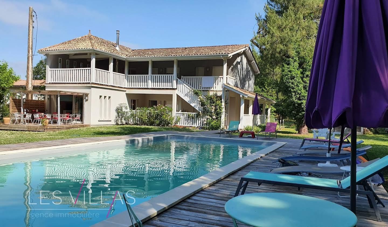 Villa with pool and terrace Moulis-en-Médoc