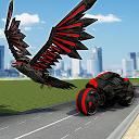 US Police Spy Crow Transforming Robot Bike 2018 APK