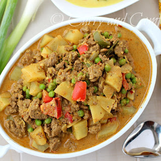 Ground Beef and Potato Curry.