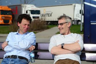 Photo: Frans en Nigel