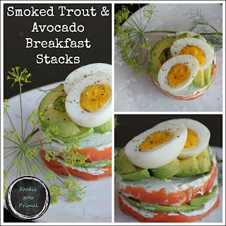 Smoked Trout & Avocado Breakfast Stacks