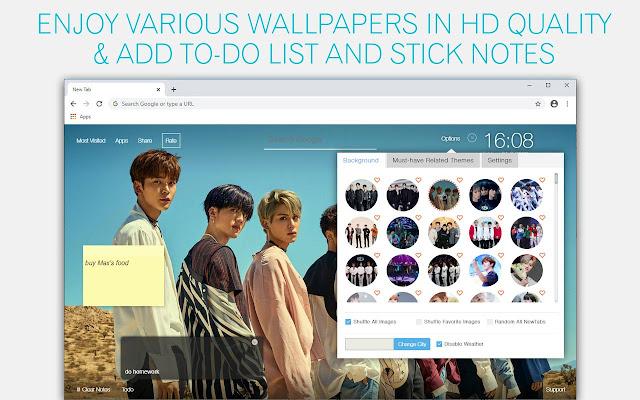 Kpop SF9 Wallpaper HD Kpop SF9 New Tab