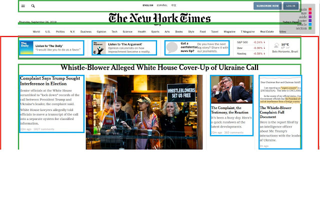 Semantic HTML Viewer