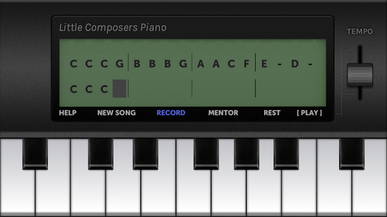 Little Composers Piano- screenshot thumbnail