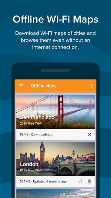 #5. Free WiFi - Wiman (Android)