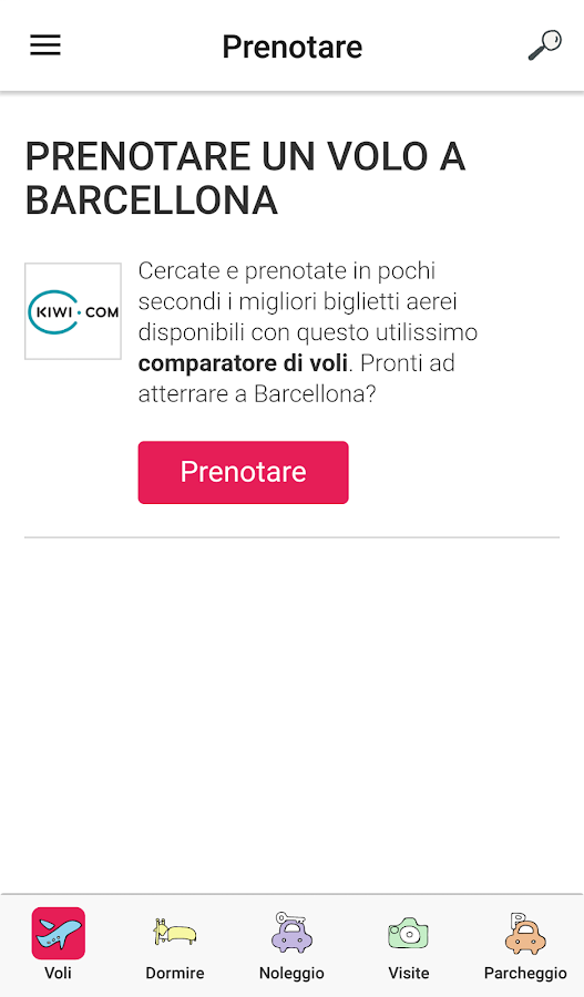 Piccole Dritte per Barcellona- screenshot