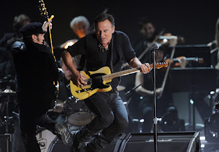 Photo: LOS ANGELES, CA - FEBRUARY 12:  Musician Bruce Springsteen performs onstage at the 54th Annual GRAMMY Awards held at Staples Center on February 12, 2012 in Los Angeles, California.  (Photo by Kevin Winter/Getty Images)