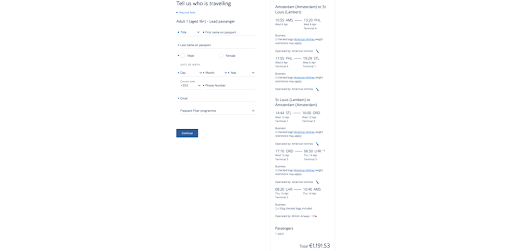 USA: Oneworld Business Class Starting at €1,187 From Amsterdam