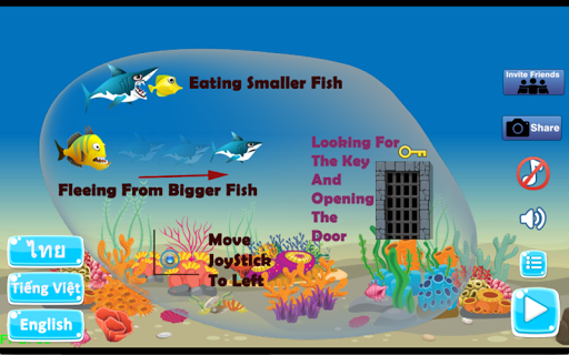 Shark Journey - Feed and Grow Fish Game filehippodl screenshot 12