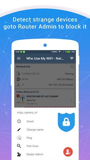 Who Use My WiFi - Network Scanner 1.6.1 screenshots 2