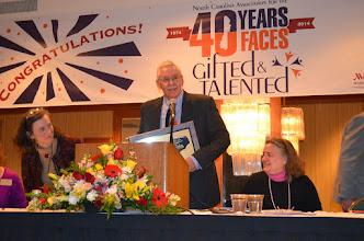 Photo: Jim Brooks - Distinguished Service Award Recipient 2014