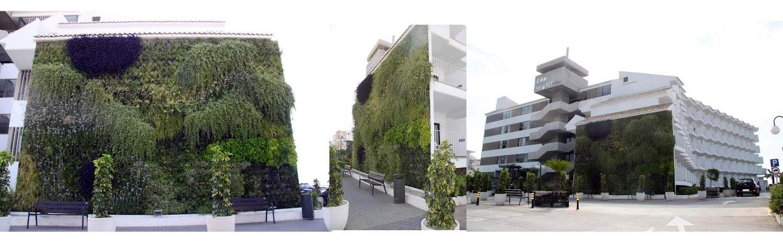 Jardín vertical hidropónico