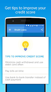 personal loans free credit score shubh loans apps on google play. Black Bedroom Furniture Sets. Home Design Ideas