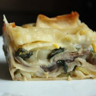 White Vegetarian Lasagna Recipes