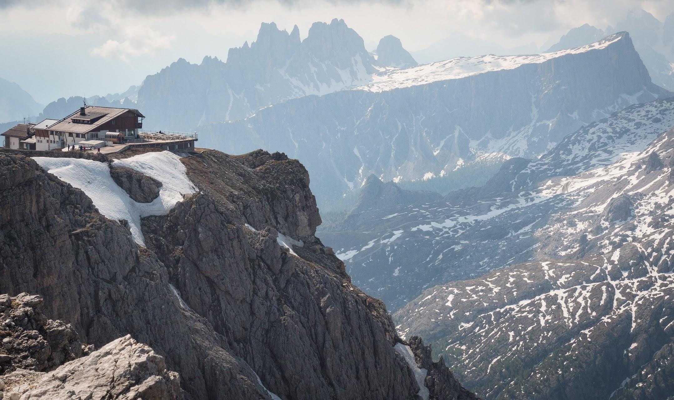 Rifugio Lagazuoi, the Dolomites