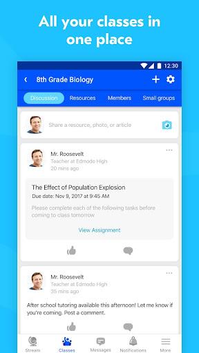 Edmodo 9.9.0 screenshots 4