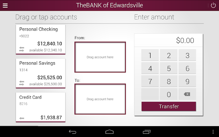 android The BANK of Edwardsville Screenshot 12