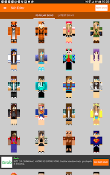 Download Skin Editor For MinecraftPE APK Latest Version App For - Minecraft grobe hauser download