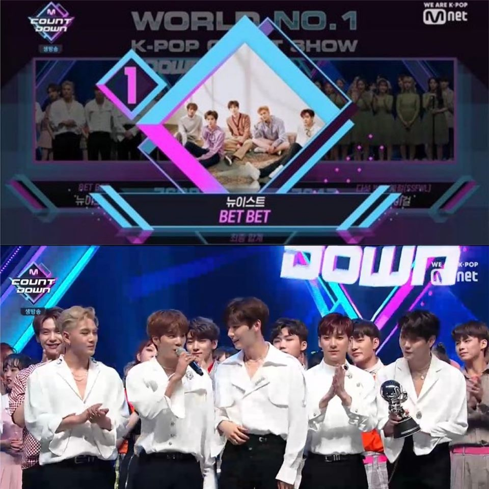 m countdown nuest win